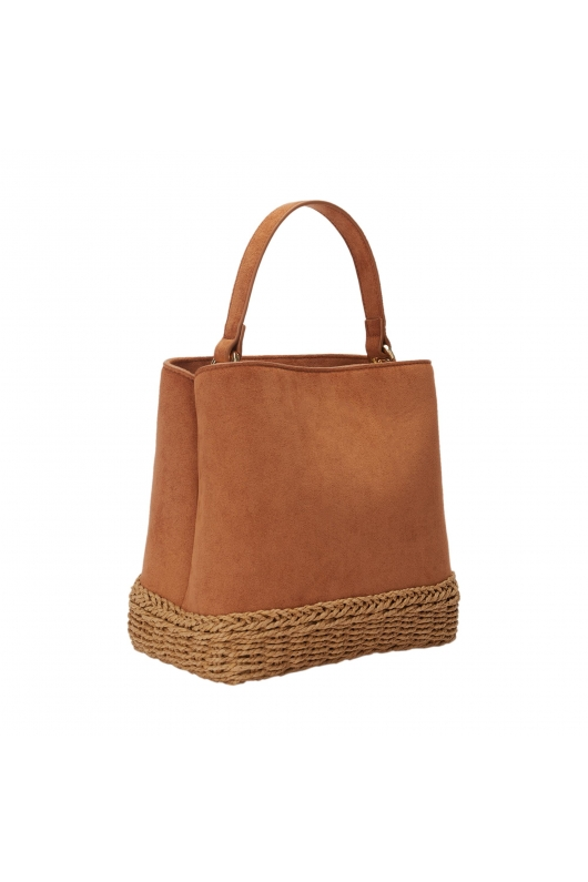 Bucket Bag EVA2 Camel M