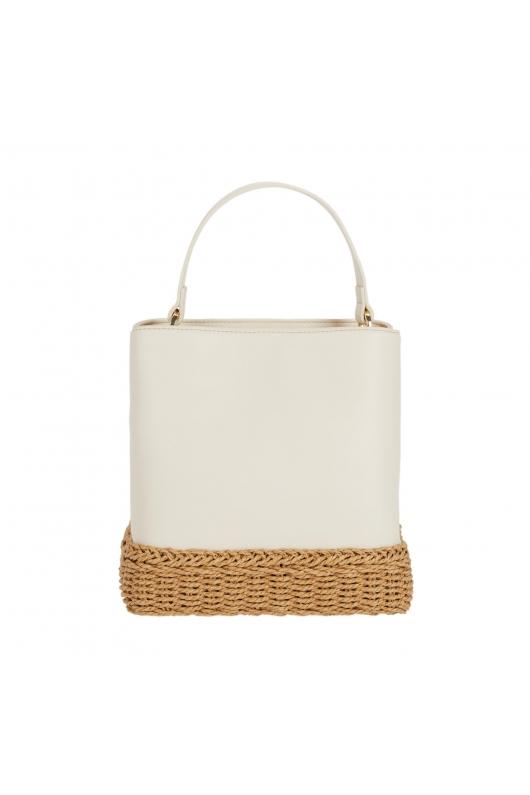 Bucket Bag EVA2 White M