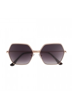 Hexagonal Sunglasses GENSUN Rose Gold U