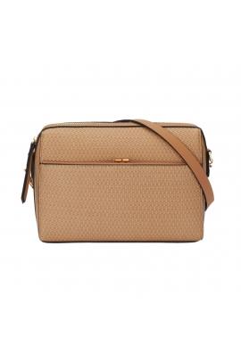 Crossbody Bag BRAID Camel M