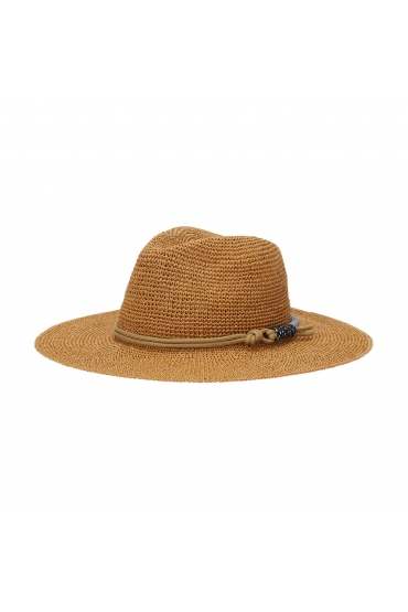 Fedora Hat General Hats Beige U