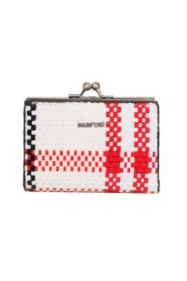 Wallet NEW CHECKS White M