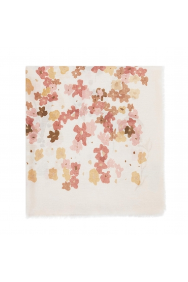 Printed Scarf LANDSCAPE Pink M