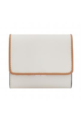 Wallet BRAID White S