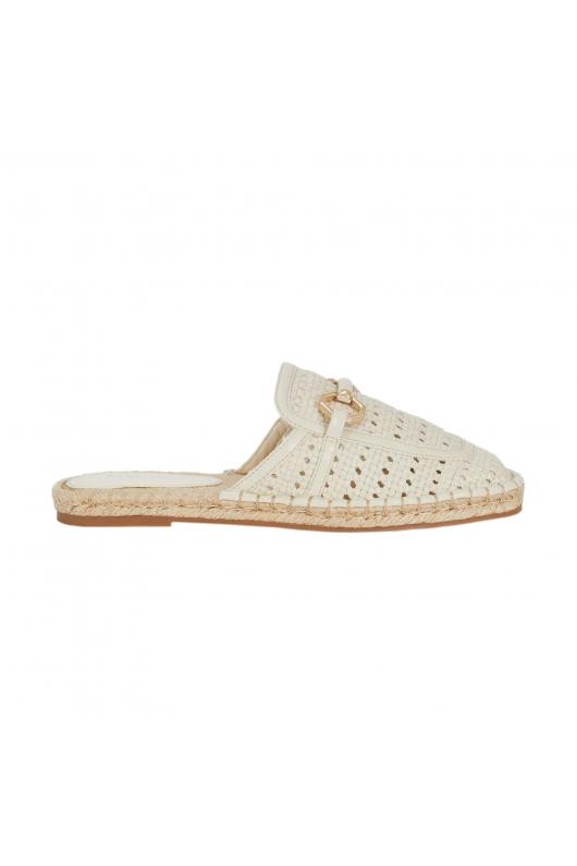 Flat Heel Shoes White