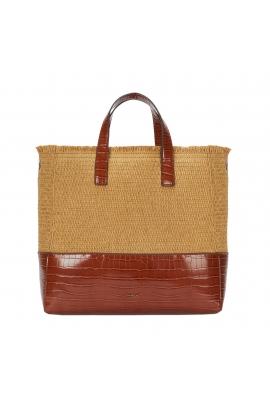 Shopper Bag AKUA 2 Camel M
