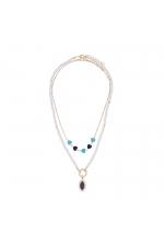 Set of Necklaces SANTORINI Blue U