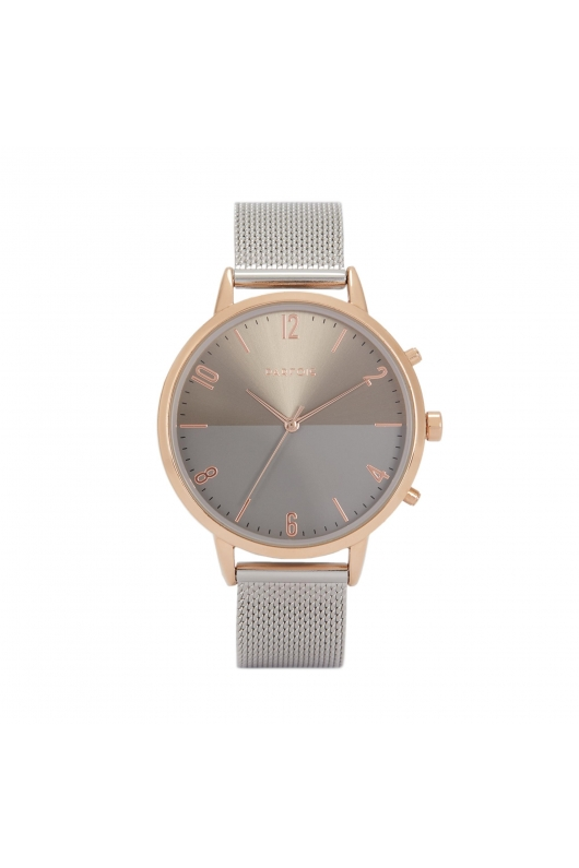 Casual Watch ROSE GOLD TRAY Silver U