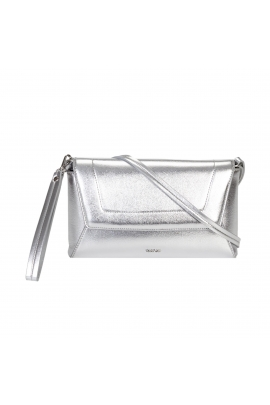 Envelope Bag LUCK Silver M