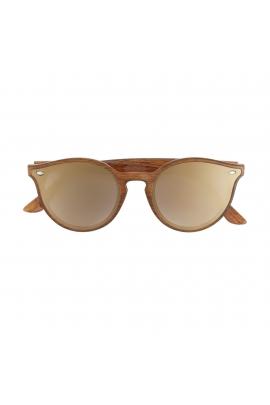 Round Sunglasses General Sunglasses Caramel U