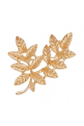 Pin FASHION SUPPLEMENTS Gold U
