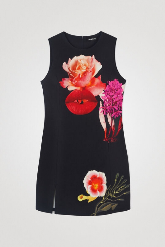 DRESS DESIGNED BY M. CHRISTIAN LACROIX
