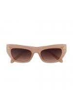 Hexagonal Sunglasses GENSUN Beige U