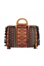 Shopper Bag CHESS2 Orange L