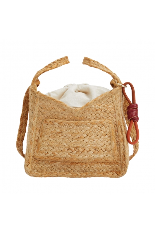 Tote Bag CHESS2 Straw S