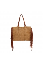 Shopper Bag CHESS1 Straw XL