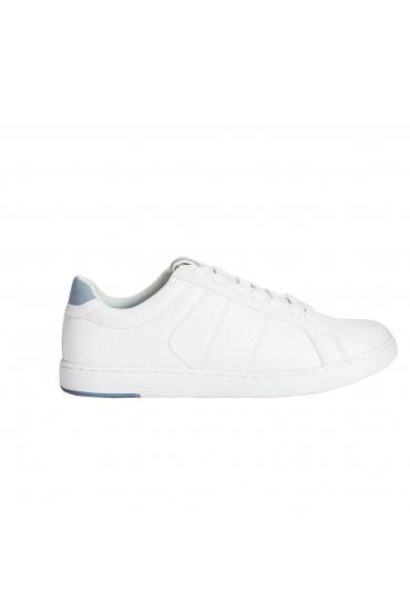 Tennis Shoes WHITE & LIGHT BLUE White