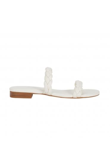 Flat Heel Sandals BRAID Off White