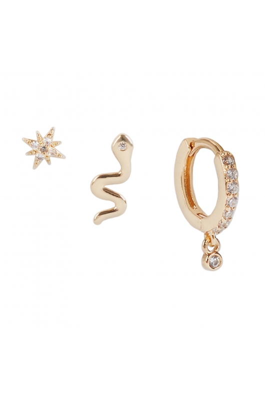 Earring KISS COLLECTION Gold U