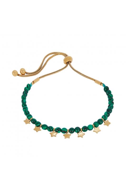Bracelet STAINLESS STEEL COLOR Forest Green U