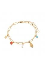 Bracelet STAINLESS STEEL COLOR Bright Multicolor U