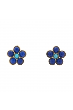 Earring STAINLESS STEEL COLOR Bright Multicolor U