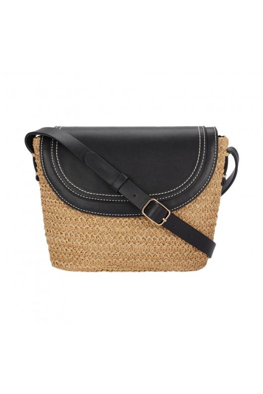 Crossbody Bag KAREN Ecru S