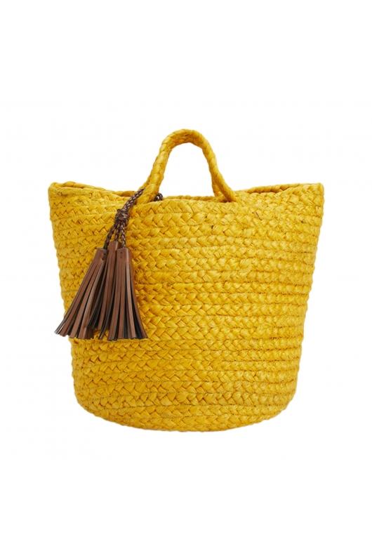 Shopper Bag SANJO1 Yellow M