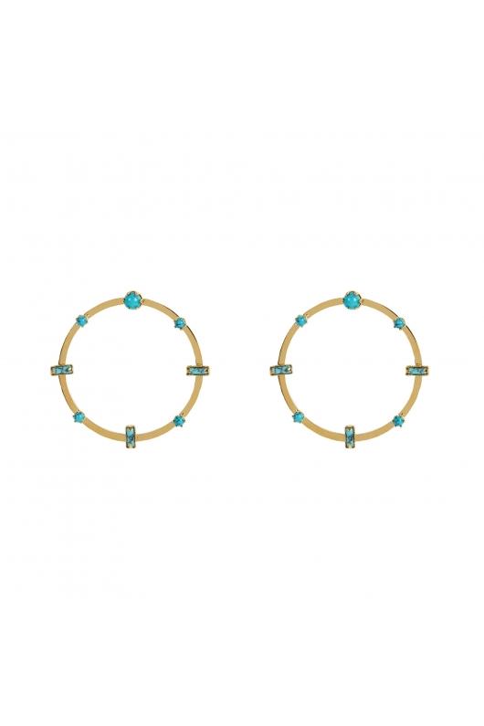 Earring SPARKLING EARRINGS Turquoise U