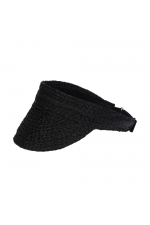 Visor Hat Black U