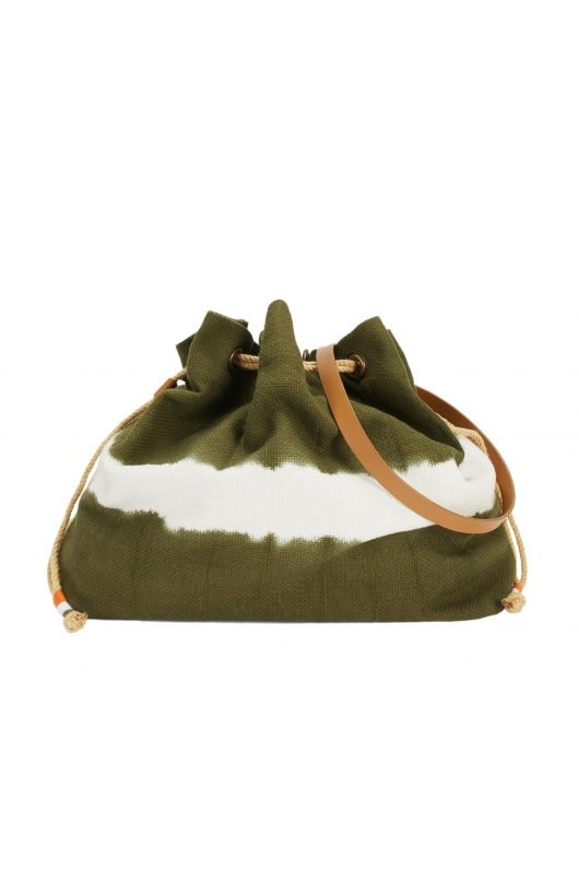 Bucket Bag SANJO2 Khaki M