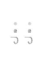 Set of Earrings BLOG Silver U