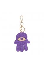 Key Chain Purple U