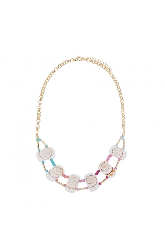 Necklace SEA BREEZE Pastel Multicolor U