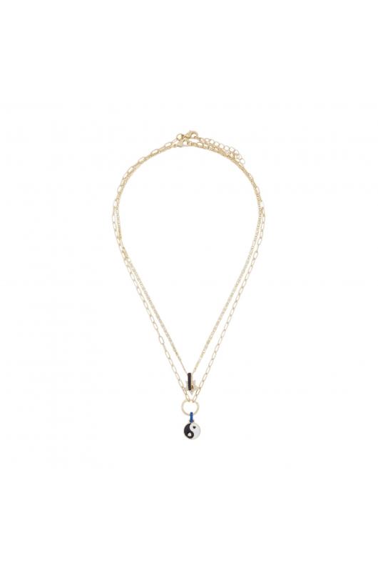Set of Necklaces KISS COLLECTION Black U