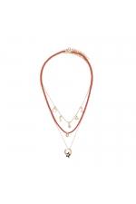 Set of Necklaces KISS COLLECTION Bright Multicolor U