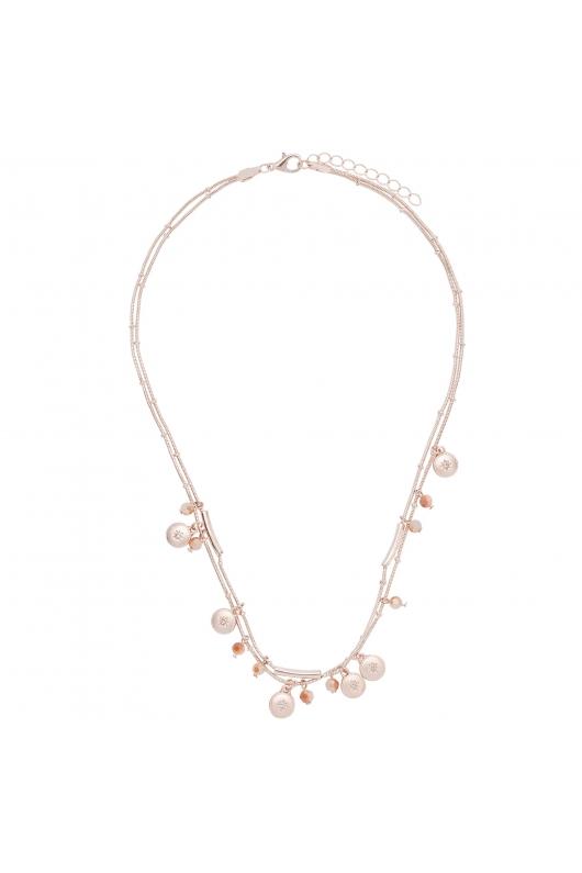 Necklace ROSE CHARM Rose Gold U