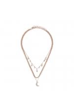 Set of Necklaces ROSE CHARM Rose Gold U