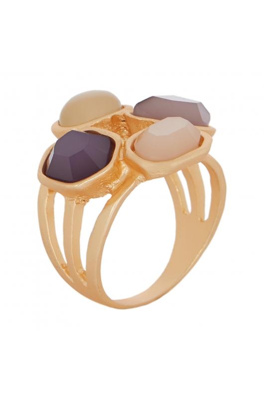 Ring GRAPE STONE Dark Multicolor