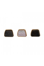 Set of Earrings BOREAL WIND Halftone Multicolor