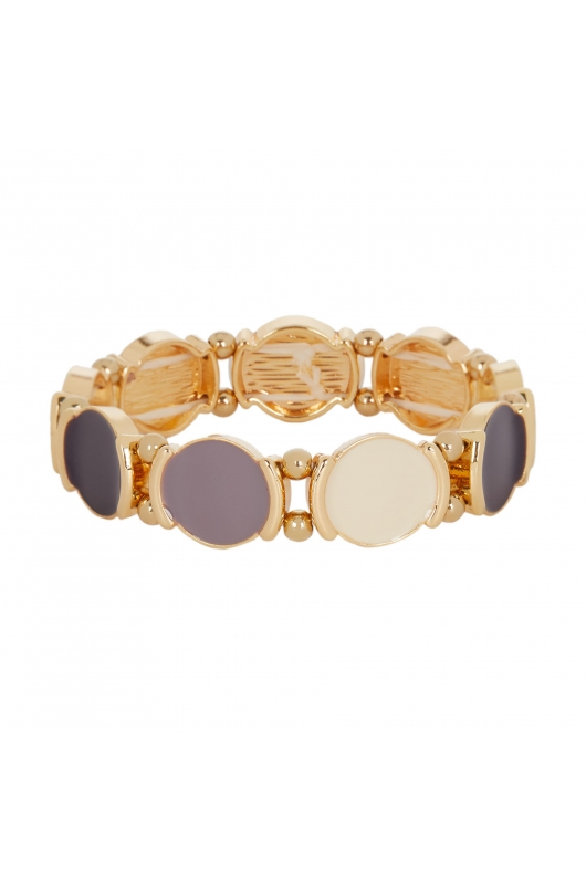 Bracelet GRAPE STONES Halftone Multicolor