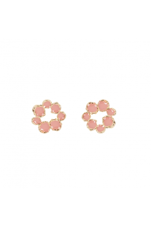 Earring BOREAL WIND Pink U