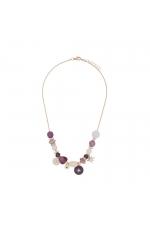 Necklace GRAPE STONES Halftone Multicolor U