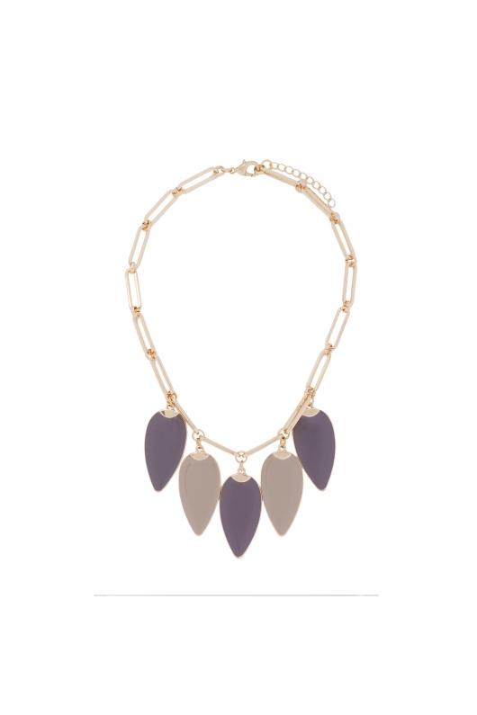 Necklace GRAPE STONES Dark Multicolor U