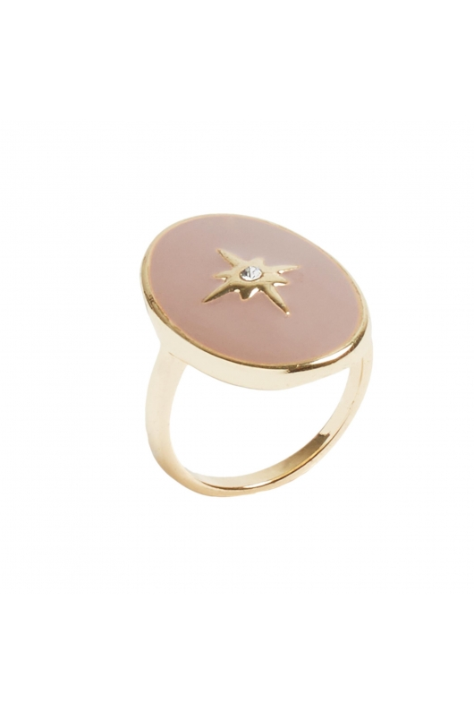 Ring GRAPE STONES Dark Pink