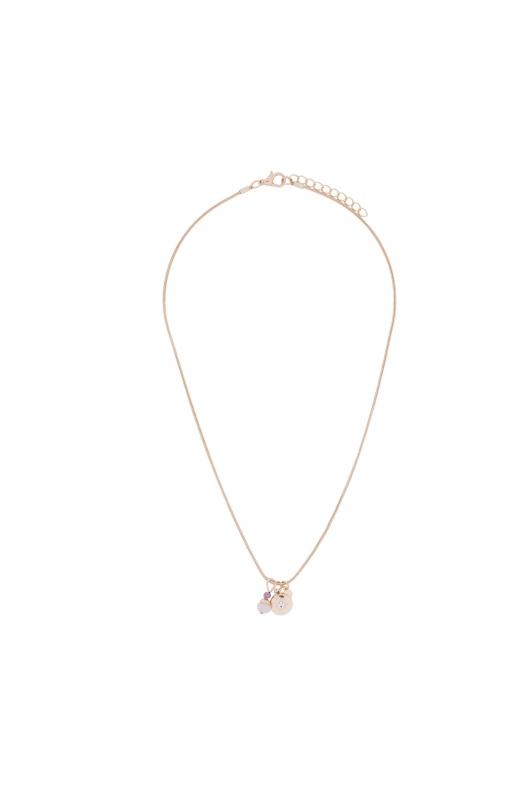 Necklace GRAPE STONES Lilac