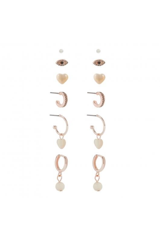 Set of Earrings ROSE CHARM