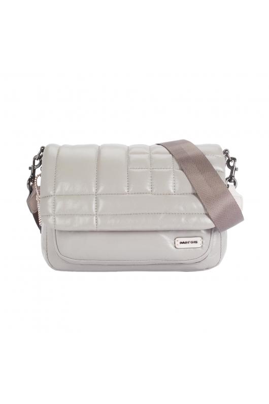 Crossbody Bag FLUFFY Grey L