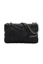 Crossbody Bag WRINK2 Black M