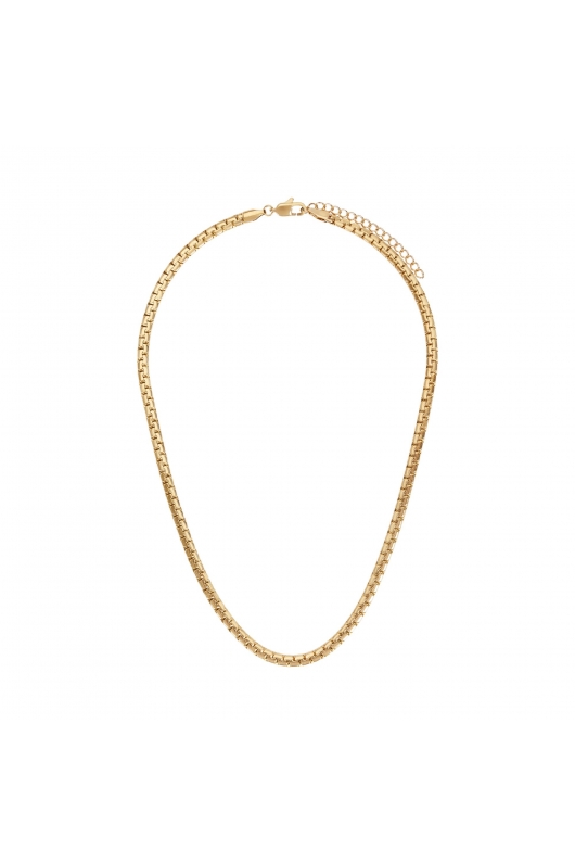 Necklace STAINLESS STEEL CHAINS Gold U